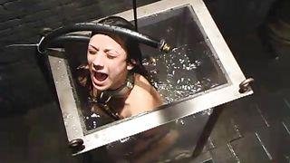 Girl Is Locked In Water Tank