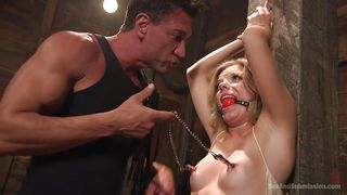 Slutty Trisha Gets Bonded With Ropes