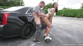 Wow, She's Really Impressed With His Car