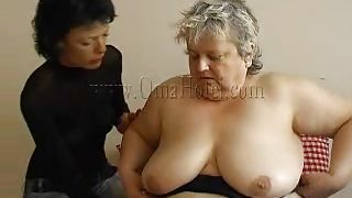 Old Nanny-Fat Old Granny With Her New Girlfriend. PornZek.Com