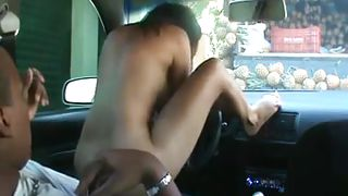 Black Couple Will Fuck In A Traffic Jam