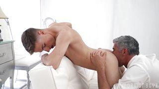 Gay Mormon Rides A Hard Cock