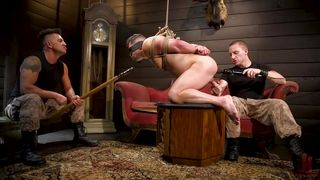 Blindfolded Sex Slave Gets Tortured And Fucked