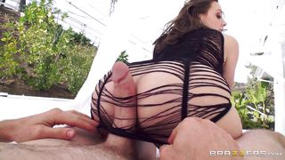 Chanel Uses Her Toes On My Cock And Then I Buttfuck Her
