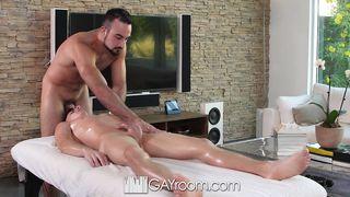 Kory Houston Massage Goes Hardcore