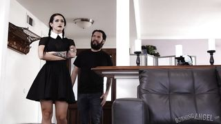 Burning Angel-Eating Out A Goth Chick's Cunt PornZek.Com