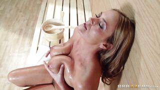 Steamy Sex In The Sauna