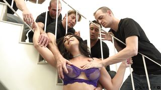 Hot Gang Bang With Chanel Santini