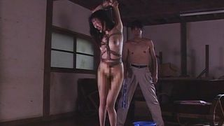 Bound, Whipped And Made To Suck Cock