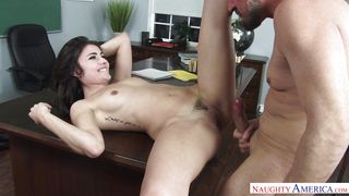 Adria Gets Fucked Hard By Her Teacher