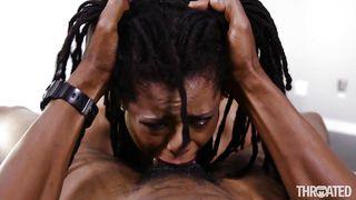 Black Beauty's Versus The Brutal Blowjob