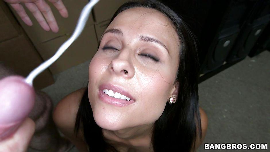 Milf facial thumbs