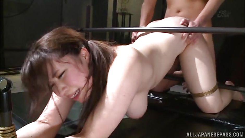 Japanese milf slave