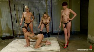 Slut Gets Her Ass Punished For Being A Whore