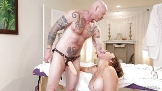 Sweet Shemale Fucked By A Trans Man With A Fake Cock