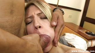 Blonde Cunt Gives Me Awesome Blowjob