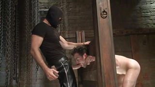 Gay Sex Slave Learns How To Stay Bent Over