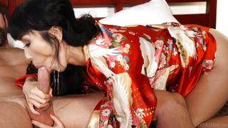 Sexy Geisha Sucking A Big Cock  Pho King Asians #04