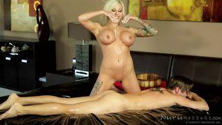Slutty Vixen Masters The Art Of Erotic Massages