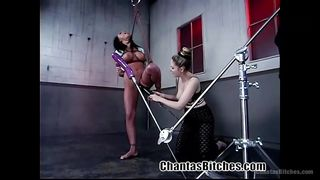 Busty Slave Eva Gets Whipped Hard