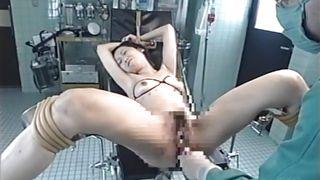 Bondage gyno table