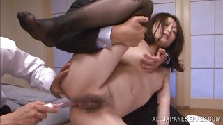 Nippon Bitch Roughly Ass Fingered
