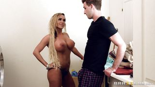 Caught Watching A Hot Milf Undress