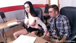 Naughty Students Make Out In The Classroom