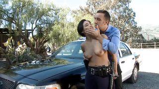 Hot Police Officer Slut Busted