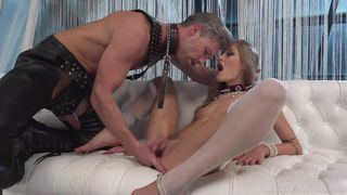 Submissive Sex Slave Likes To Please His Mistress  Rocco's Time Master Sex Witches Sc. 3
