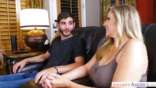 Julia Ann Seduced Her Son's Friend