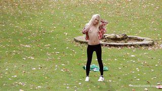 Blonde Having Fun