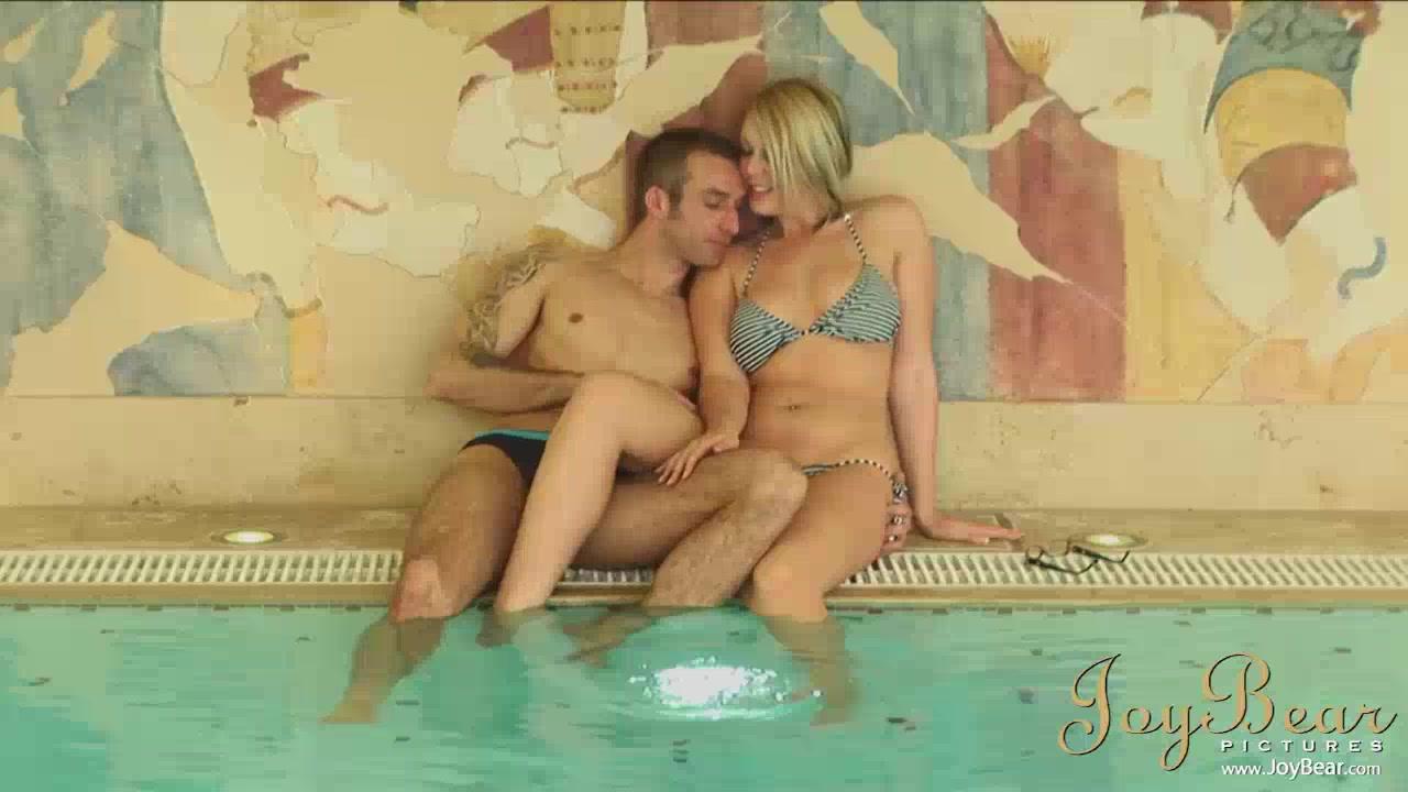 Joybear banging busty samantha bentley in the pool 8