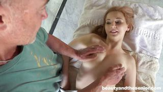 Old Man Gets Fresh Pussy
