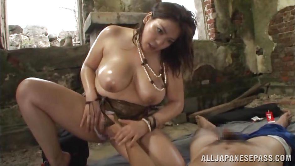 big Japanese tits sex