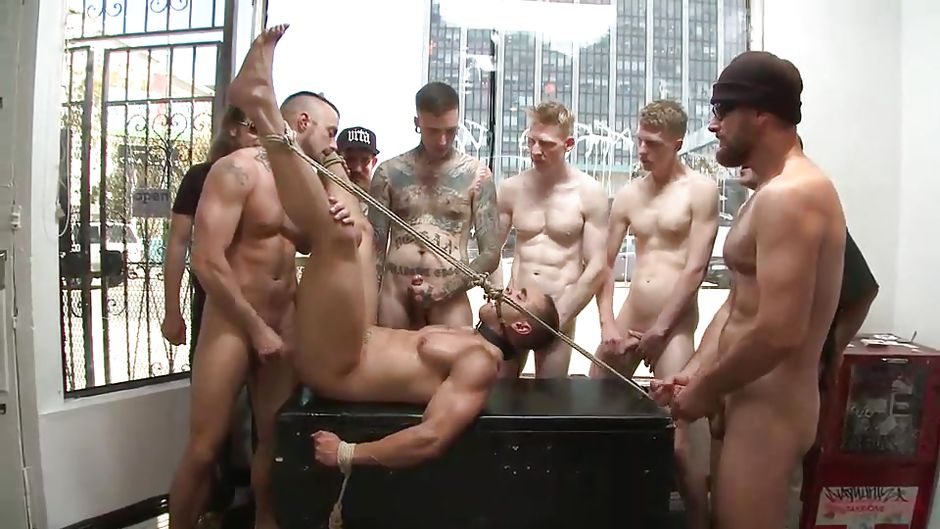 Men Bound And Fucked