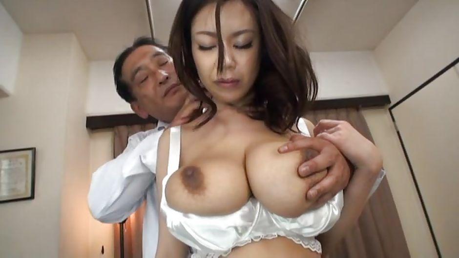 Big breast grope