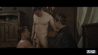 Gay Servants Suck Their King's Cock