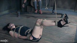 Rope Bondage For A Naughty Babe