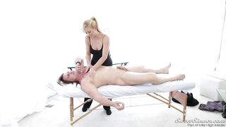 Cherie Give Evan A Hot Massage