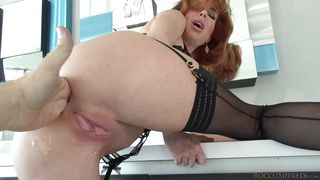 Redhead Milf Has To Taste Her Own Pussy Juice  Rocco's Intimate Initiations