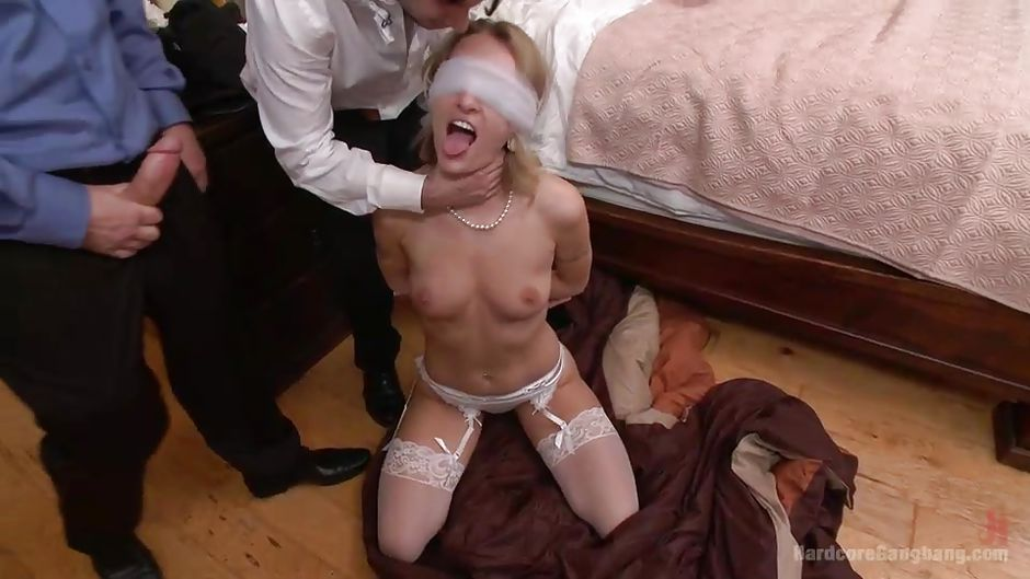 Mr Pete Tommy Pistol Natasha Starr Prince Yahshua In Blindfolded Slut Takes Cocks Every Which Way Hd From Kink Hardcore Gangbang