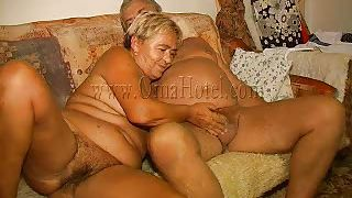 Old Nanny-Old People Have Couch Sex Too PornZek.Com