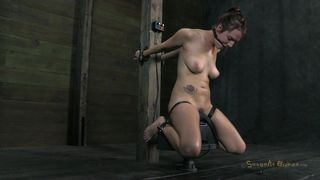 Small Tits Brunette Mouth Fucked