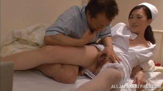 Patient Gets A Nurse To Help Him.