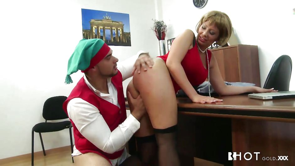 Milf christmas party