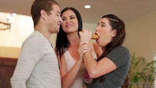 Karlee Passes Her Initiation Test  Couples Seeking Teens