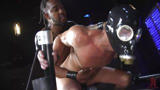 Cesar Xes Gets Big Black Cock In The Ass