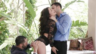 Hot Teen In Passionate Threesome