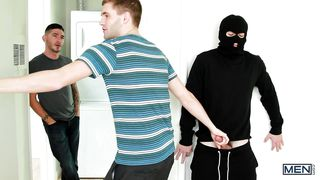 Masked Gay Guy Obtains What He Wants